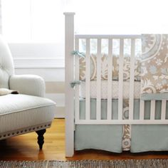 New Arrivals Crib Bedding Picket Fence @LaylaGrayce