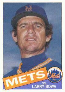 Larry Bowa New York Mets