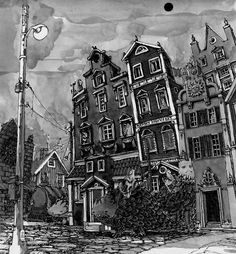 Fantasy Cities - Mattias Adolfsson