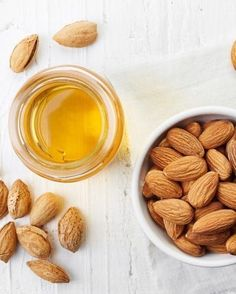 Olio di mandorle Almond, Skin Care, Instagram, Food, Skincare Routine, Essen, Almond Joy, Skins Uk, Meals