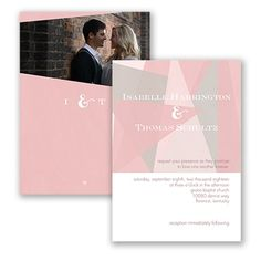 Harmony of Love Wedding Invitation by David's Bridal #weddings #invitation #davidsbridal