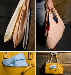 DIY: reusable grocery bag. Great for the 3408673984634 yards of linen I need to use up.