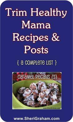Trim Healthy Mama Recipes List