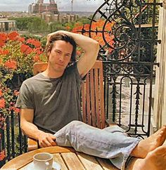 Keanu Reeves/••••Extremely private individual. You won't see him doin the Hollywood club route, or doing anything to intentionally draw attention to himself. He wants to be left alone and does the least possible film publicity that he can possibly get by with.
