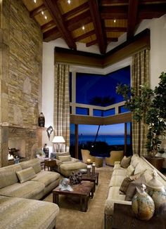 Carlsbad Home Rustic Eclectic Living Room