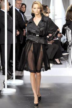 Christian Dior Spring 2012 Couture Fashion Show - Michaela Kocianova (Elite)