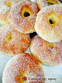 Greek Sweets, Greek Desserts, Greek Recipes, Super Donut, Candy Recipes, Dessert Recipes, Bon Appetit, Cookie Dough Pie, Homemade Playdough