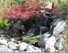 a pondless waterfall