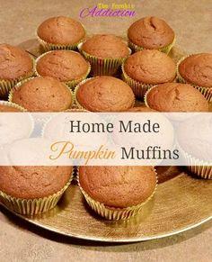 Home Made Pumpkin Muffins Recipe!