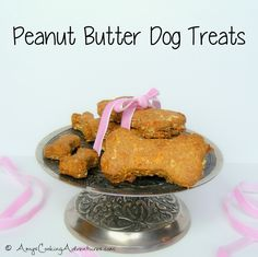 Amy's Cooking Adventures: Peanut Butter Dog Treats