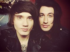 Denis Stoff and Cameron Liddell- Asking Alexandria