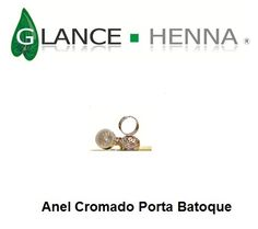 Anel Porta Batoque - By Rare Way Cosméticos Faciais