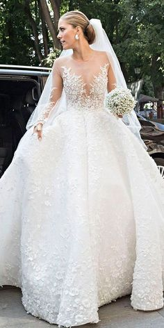 The Chic Technique: Celebrity wedding dresses.