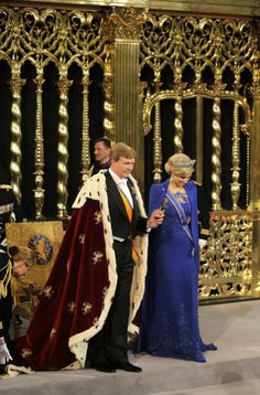 TM the King and Queen of the Netherlands 30.04.13