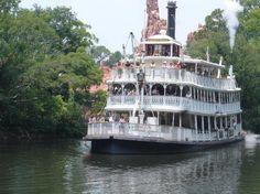 """The """"Mark Twain"""", Disney World"""