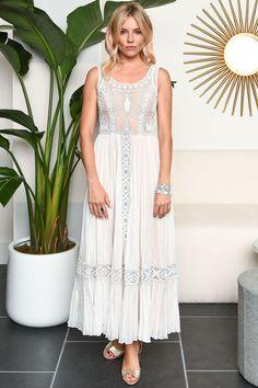 Sienna Miller Valentino dress