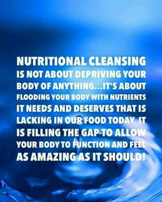 Nutritional Cleansing - Isagenix