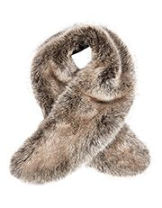 Luxe Faux Fur Tippet - Accessorize £25