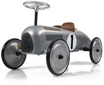 Mini Speeders Gåbil Classic Racer Silver
