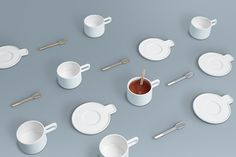 cupsaucerspoon_byamt_25The Grid Cup, Saucer, and Spoon is a minimal design created by Alissia Melka-Techroew of byAMT for OTHR