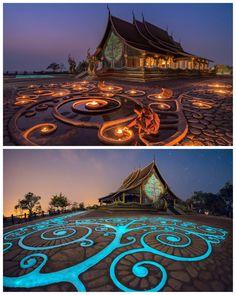 Sirindhorn Wararam Phu Prao Temple | Ban Chong Mek, Sirindhorn, Thailand