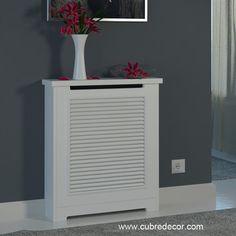 Cubreradiador ayora blanco ideas para ocultar - Cubreradiadores clasicos ...