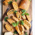 Tomato & Spinach Bread Roulade