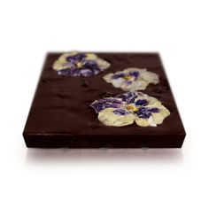 Giant Belgian dark chocolate with dried fruits & candied edible flowers. high quality perfect gift for girlfriend - Modern Handmade Gifts For Girlfriend, Perfect Gift For Girlfriend, Fleur Design, Artisan Chocolate, Chocolate Factory, Edible Flowers, Vanilla Flavoring, Dried Cranberries, Easy Gifts