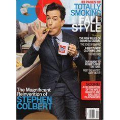 GQ Magazine | Stephen Colbert | Fall Style | Kanye West | GiGi Hadid