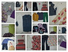 Huge 30pc Clothing Lot! Girl's sz 3T 4T Summer Fall Gymboree Gap Clothes #babyGap #DressyEveryday