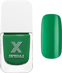 Formula X The Colors – Nail Polish in supersonic Kelly green ($4)