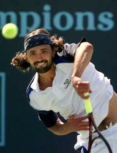 Goran Ivanisevic - Powerful Serves and Win Aces !