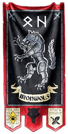 Space Wolves Banners dark angels cha...