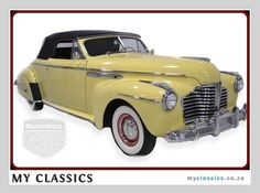 1941 Buick Roadmaster Coupe Convertible classic car
