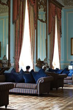 Holme Lacy House Blue Room