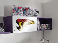 1000 images about comic book furniture on pinterest vintage comic books comic books and comic - Comic themed bedroom ...