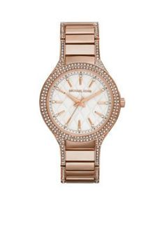 Michael Kors  Rose Gold-Tone Kerry Watch