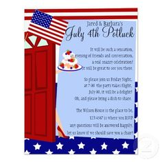 Inviting 4th of July invitations!