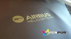 Marquage et flocage textile #airbus par Signpub Marignane. Airbus, Textiles, Flocking, Fabrics, Textile Art