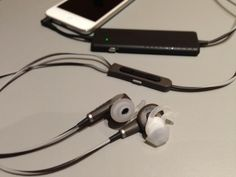 Despite some downsides, including a high price, the Bose QuietComfort 20 offers the best noise-canceling in an in-ear headphone and should tempt frequent travelers looking for a more compact alternative to full-size NC headphones. Cool Things To Buy, Good Things, Stuff To Buy, Best In Ear Headphones, Tech Toys, Mobile Technology, Noise Cancelling, Bose, Compact