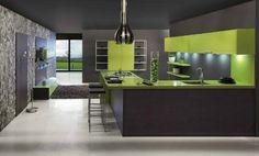 Sleek Modern Kitchens