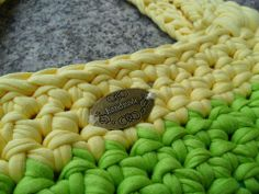 Bolso de playa   Fabricando Arte  Trapillo Ganchillo Crochet Handmade Arcoiris