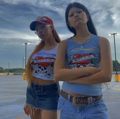 Retro Outfits, Trendy Outfits, Summer Outfits, Cute Outfits, Fashion Outfits, Swag Girl Style, 2000s Fashion, Fashion Killa, Swagg