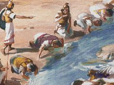 Gideon trusts in God and defeats the Midianites with just 300 men. (Judges 6 - 7): Free Visuals