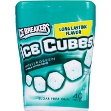 Ice Breakers Ice Cubes Wintergreen Sugar Free Gum