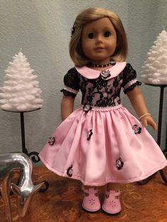 Pink Party Dress von SmallWorldCouture auf Etsy