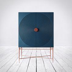 Kinda Blu & Kinda Yello on Behance Cabinet Furniture, Art Furniture, Luxury Furniture, Living Room Furniture, Painted Furniture, Modern Furniture, Furniture Design, Cheap Furniture, Custom Furniture