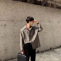 Korean Fashion Men, Japanese Street Fashion, Asian Fashion, Boy Fashion, Fashion Outfits, Korean Outfits, Trendy Outfits, Cute Outfits, Korean Photoshoot