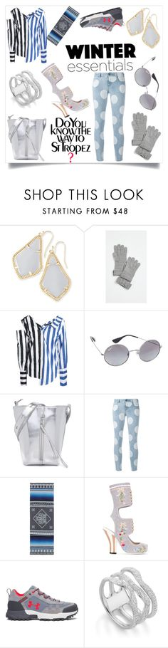 """An expression of imagination"" by emmamegan-5678 ❤ liked on Polyvore featuring Kendra Scott, Kate Spade, W118 by Walter Baker, Ray-Ban, Kara, STELLA McCARTNEY, Kenzo, Fendi, Under Armour and Monica Vinader"