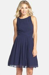 Ted Baker London 'Saphira' Tiered Pleat A-Line Dress